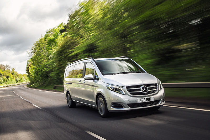 Mercedes V Class Two